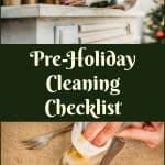 Pre-Holiday Cleaning Checklist