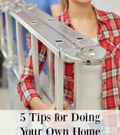 Fixing things yourself will only save you money if you do the job right. Here are 5 tips for doing your own home repairs safely.