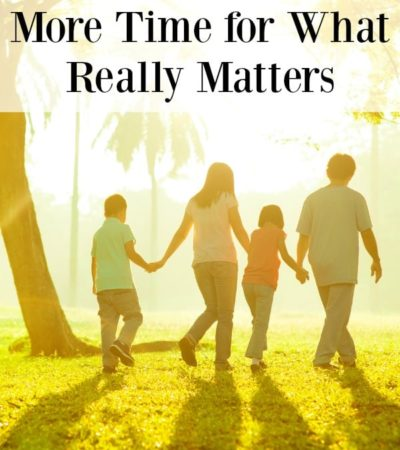 Do you feel like there is never enough time for the things that bring you joy? Here are5 ways to make more time for what really matters.