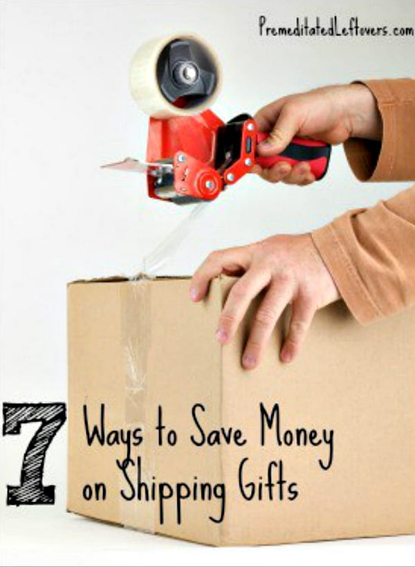 The cost of shipping packages adds up! Save money on the cost of shipping Christmas gifts with these 7 Ways to Save on Shipping Christmas Gifts this year
