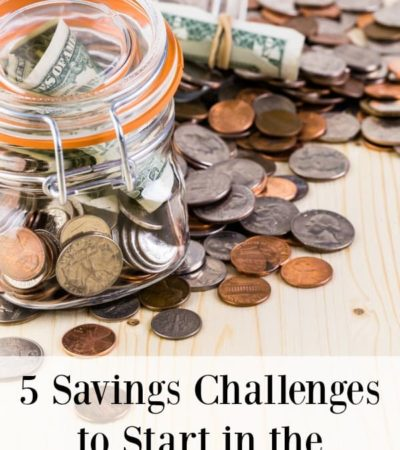 Is saving money one of your New Year's resolutions? Here are 5 savings challenges to start in the New Year to help get your finances on track.
