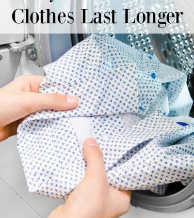 You can get more mileage out of your favorite clothes (and your clothing budget) with these 7 ways to make your clothes last longer.