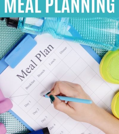 How to save money with meal planning.