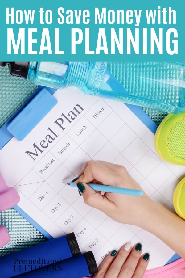 This frugal tip with show you how to save money with meal planning. All you need to meal plan on a budget is your grocery store flier. No couponing needed unless you want to!
