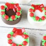 Oreo Wreath Cookies