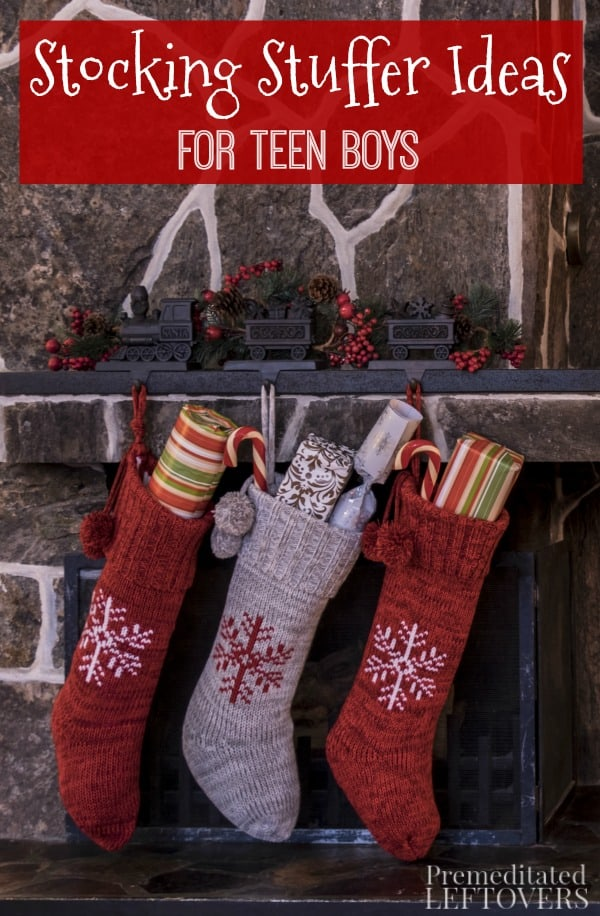 Stocking stuffers for teen boys can be hard to find. We got you covered, with some stocking stuffer ideas that they will like and fit into their stocking!