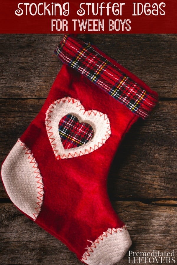 Have you been looking for stocking stuffers for tween boys? We have your back with this fun list of stocking gift ideas he will enjoy.