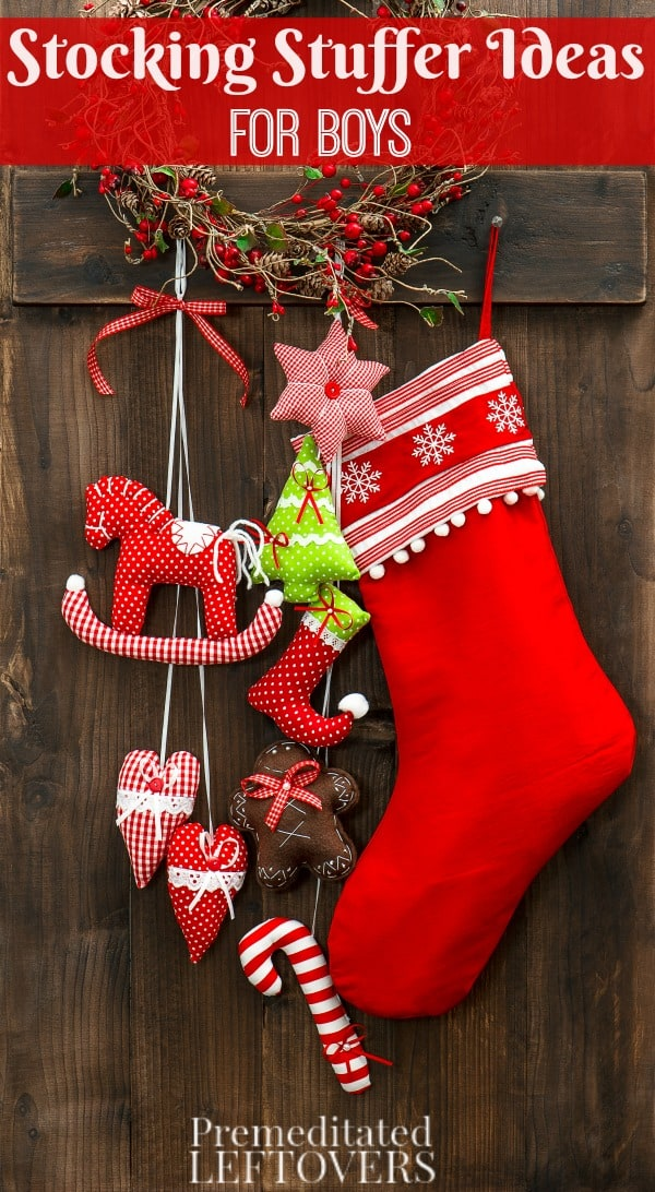 Need ideas for Stocking Stuffers for Boys? We have some fun ideas that will encourage them to play and use their imagination.