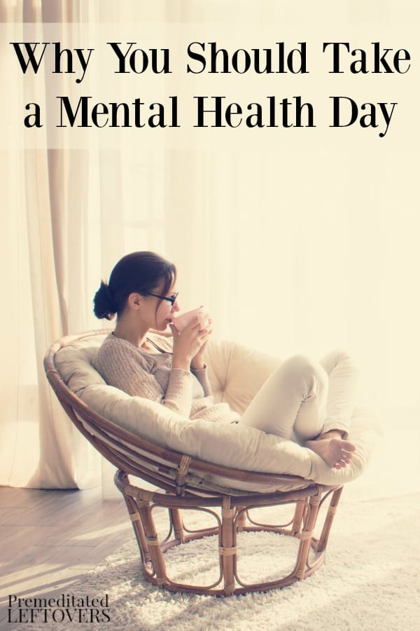 If you feel stressed and overwhelmed, a mental health day may be just what you need. Here's why you should take a mental health day and how to plan one.