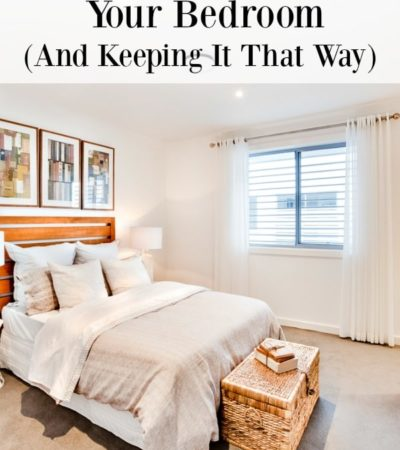 Clutter makes it hard to relax, so the last place it should be is the room where you sleep! Here are 5 tips for decluttering your bedroom.