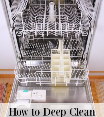 If your dishes are coming out of the dishwasher with bits of food on them, it may be time to clean the dishwasher. Here is how to deep clean your dishwasher naturally.