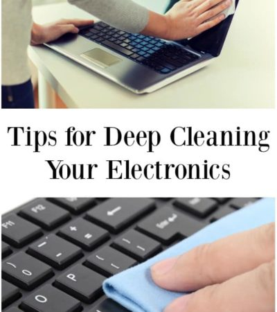 Deep cleaning your electronics is necessary to keep them in good running condition and avoid costly repairs. Here are some tips for deep cleaning your electronics.