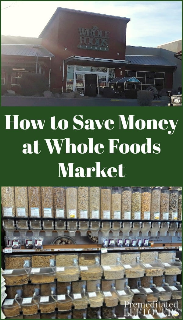 The savings doesn't stop there. After working with Whole Foods Market for more than seven years, I've picked up tons of tips on how to save money in each aisle. Here are 10 of my favorite money-saving tips for shopping at Whole Foods Market.