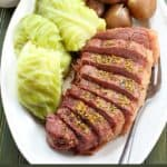 Instant Pot Corned Beef and Cabbage Recipe with Homemade Corned Beef Gravy Recipe