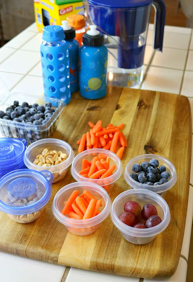 Saving money with healthy snack ideas for kids and filtered water