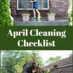 April Cleaning Checklist