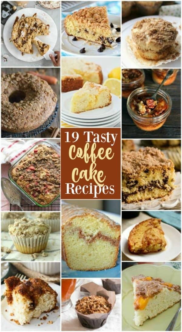 19 delicious and unique coffee cake recipes