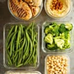 How to fit meal prep into your busy schedule - several time saving tips and ways to multi-task