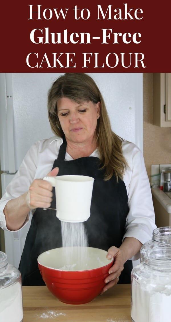 How to make gluten-free cake flour