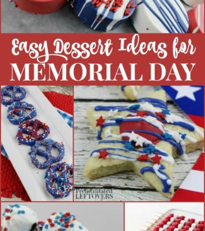Quick and Easy Memorial Day Desserts - Red, White, and Blue Dessert Recipes
