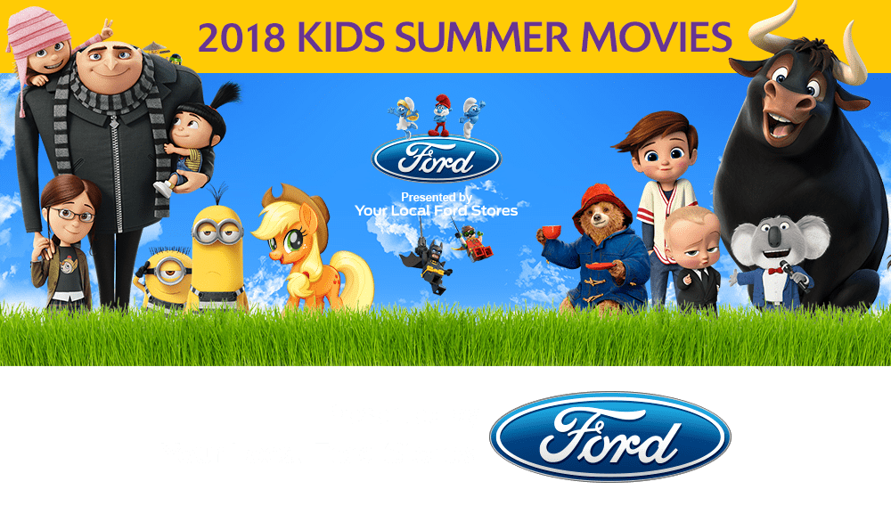 Megaplex summer movies for kids