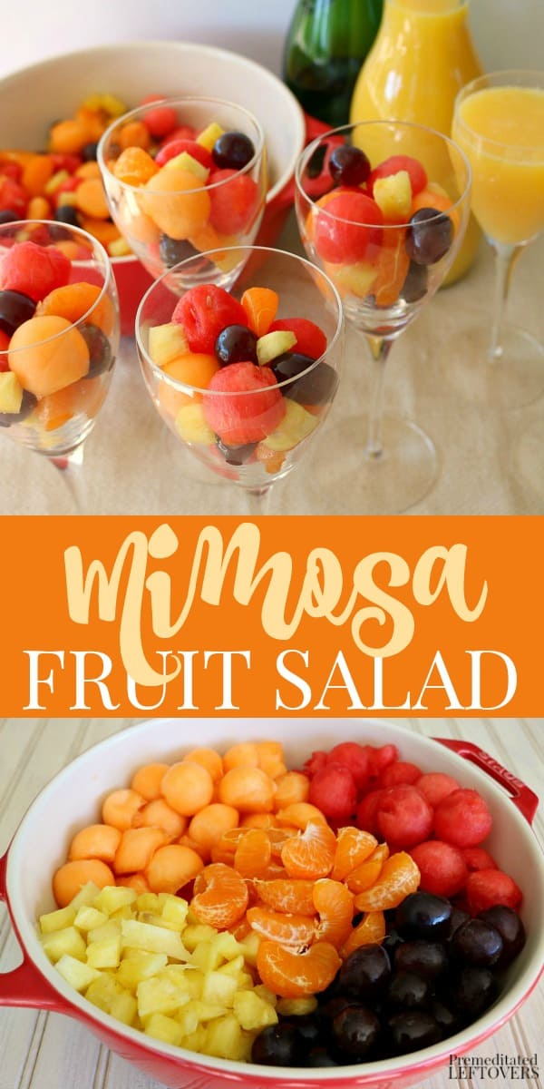Mimosa Fruit Salad Recipe