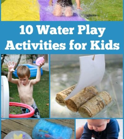 10 Water Play Activities for Kids