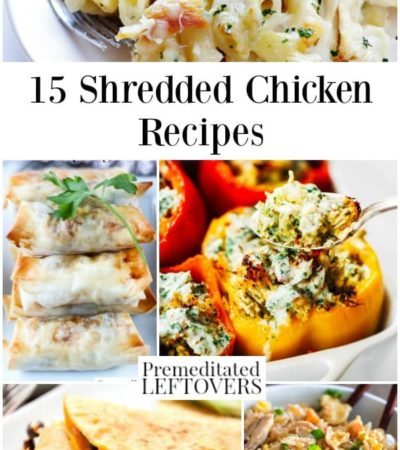 15 shredded chicken recipes