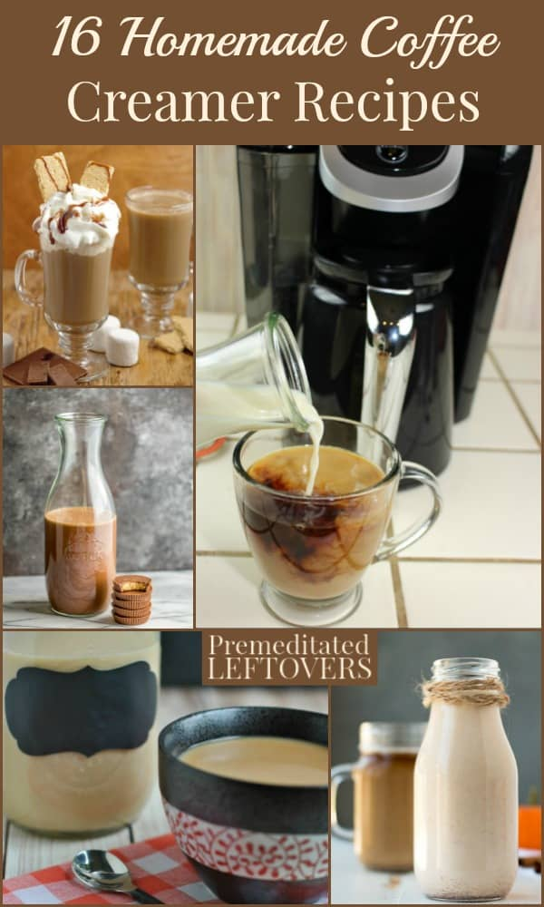 16 Homemade Coffee Creamer Recipes That