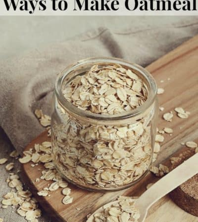 5 Time-Saving Ways to Make Oatmeal
