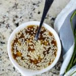 Asian Salad Dressing Recipe with Sesame Seeds