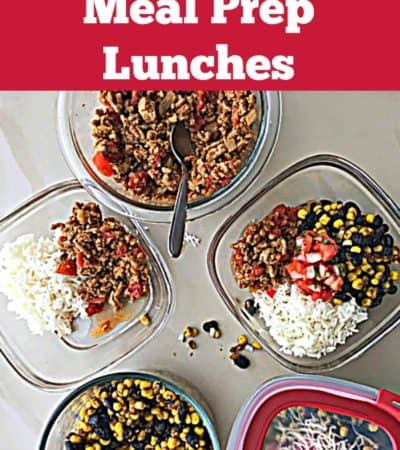Easy Ways to Meal Prep Lunches