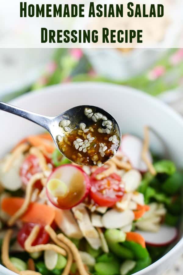 Homemade Asian Salad Dressing Recipe