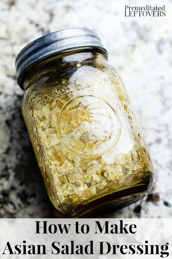 How to make Chinese chicken salad dressing recipe and tips.