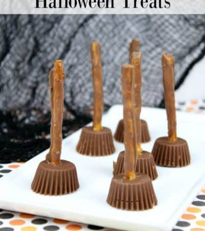 Witch's Broom Halloween Treats