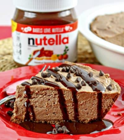 No-bake Nutella Pie Recipe