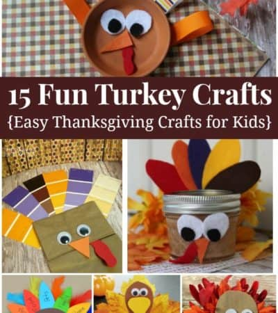 15 fun Turkey Crafts for Kids