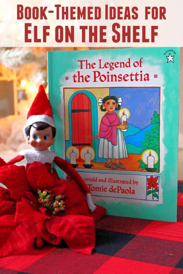 Book Themed Ideas for Elf on the Shelf