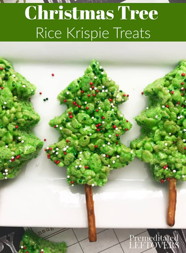 Rice Crispy Treat Christmas.Christmas Tree Rice Krispie Treat Recipe