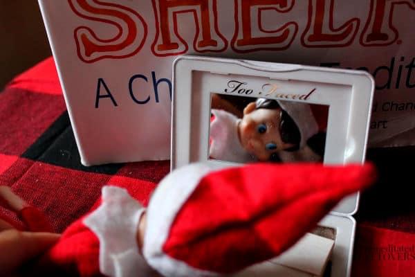 Elf on the Shelf Book Idea using the Elf on the Shelf