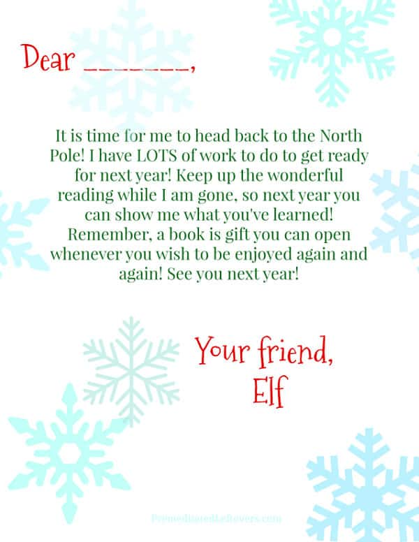 25 Book Themed Elf On The Shelf Ideas With Printables