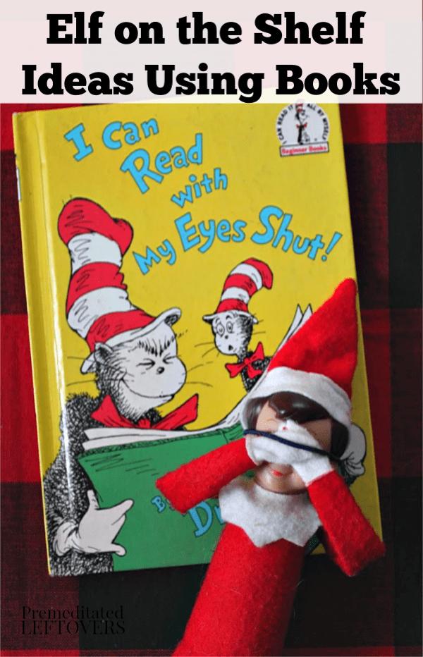 Elf on the Shelf Ideas Using Books