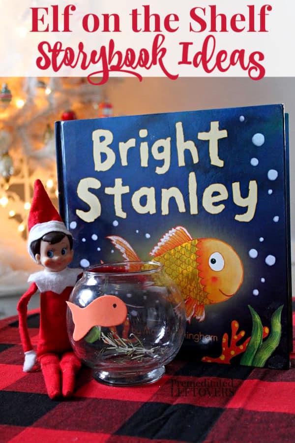 Elf on the Shelf Storybook Ideas
