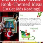 Elf on the Shelf book-themed ideas to get kids reading over winter break.
