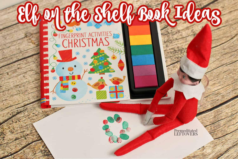 Elf on the Shelf idea using Fingerprint Activities Christmas