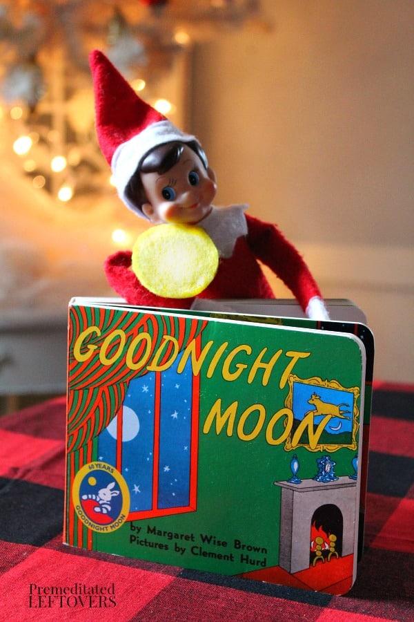 Goodnight Moon Elf on the Shelf idea