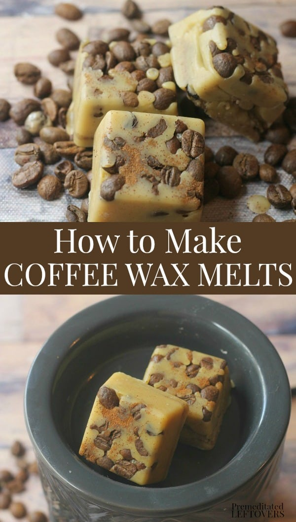 Diy Coffee Scented Wax Melts With Real Coffee Beans