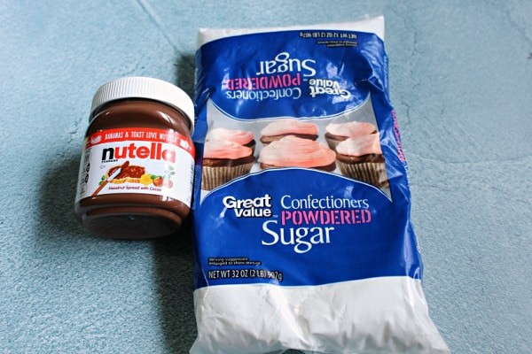 nutella slime ingredients