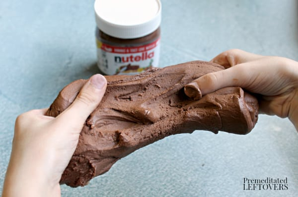 how to make nutella slime easy