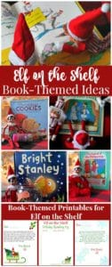 Quick and easy Elf on the Shelf ideas using children's literature.